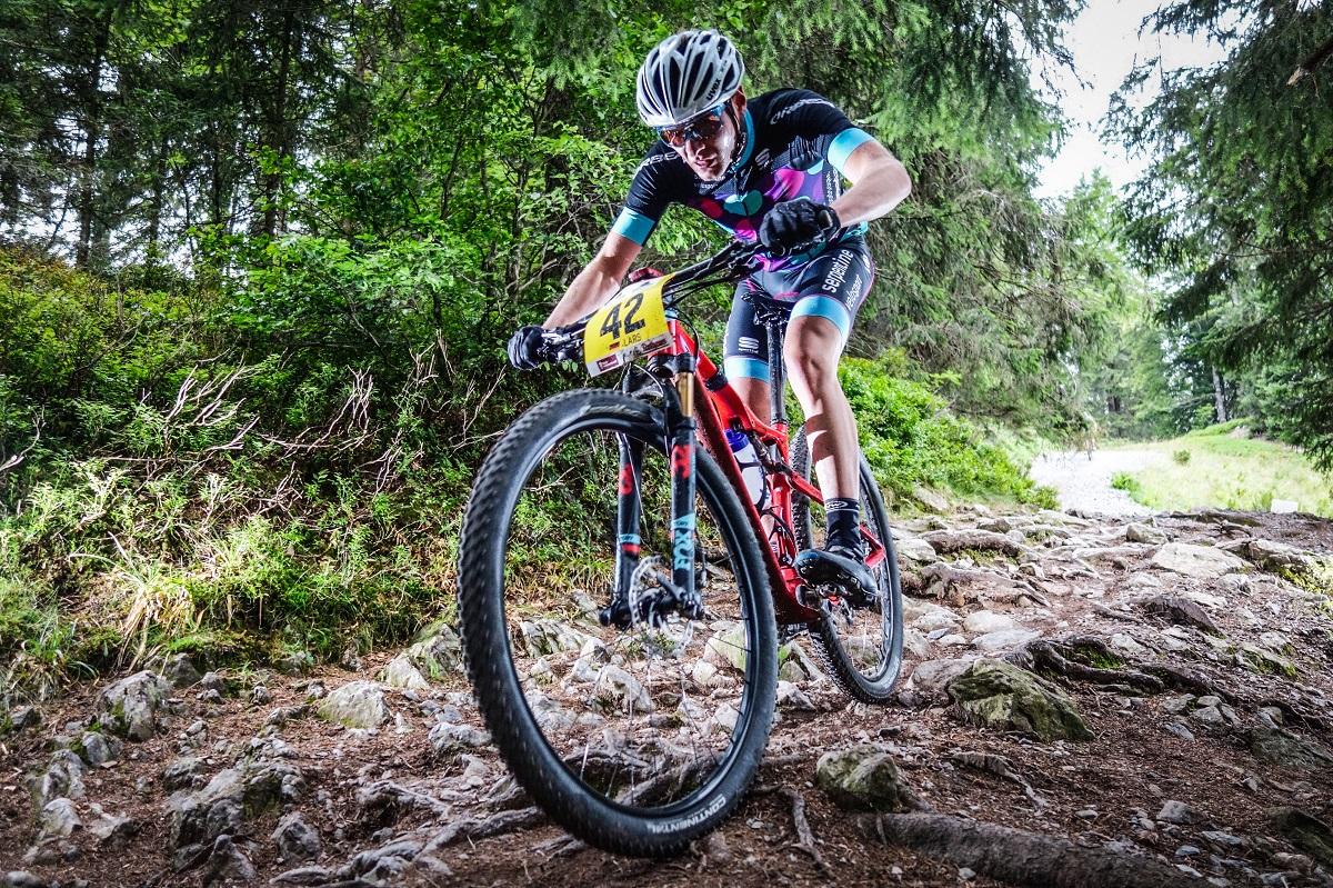 Mountainbiker beim Rothaus Bike Giro