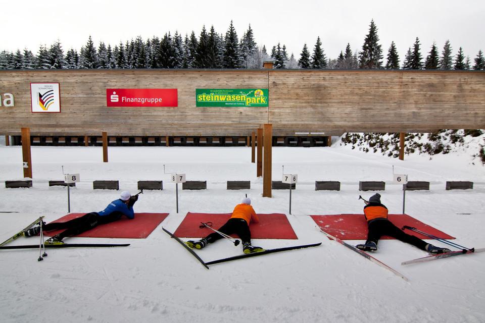 Wir Anfänger wollen wissen, wie das beim Biathlon wirklich ist!