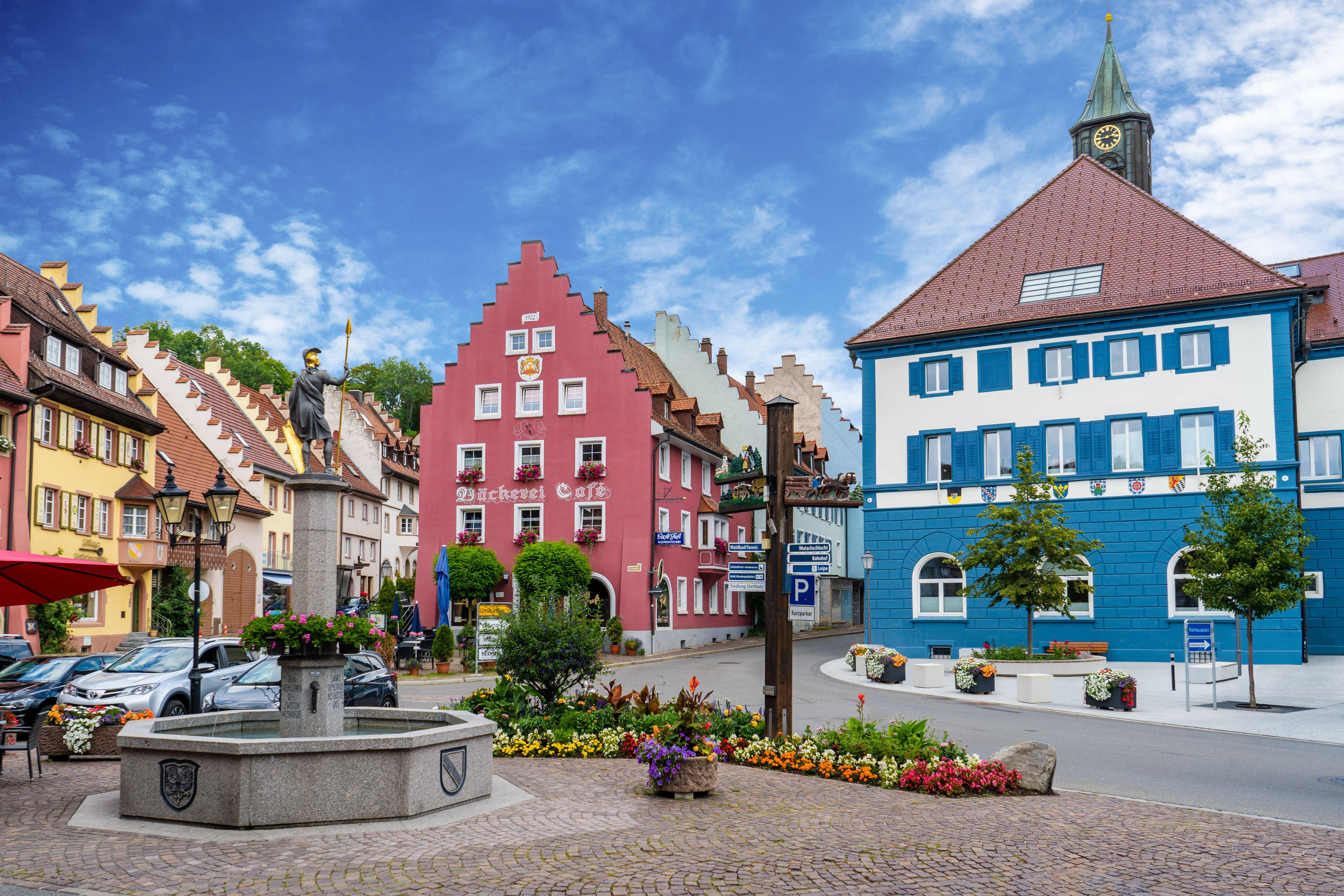 Stadtkern von Löffingen