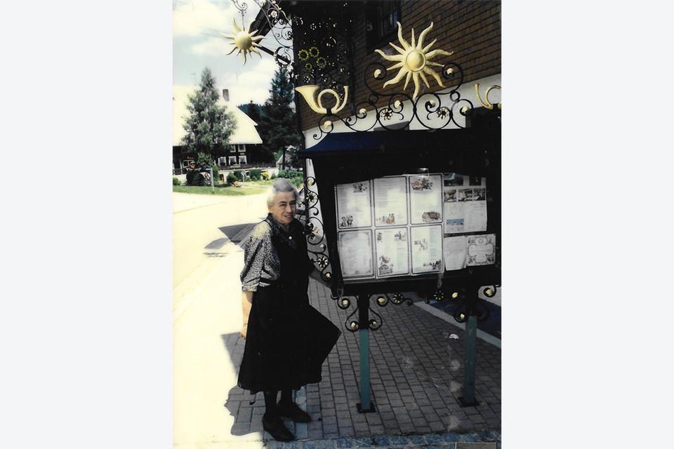 Augusta Wehrle führte die Sonne sechs Jahre lang alleine.