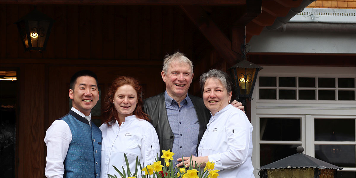 Die gesamte Familie Wimmer-You leitet den Adler gemeinsam. Dieser steht für hervorragende Küche und tolle Weine und ist beliebt bei Gästen aus nah und fern.