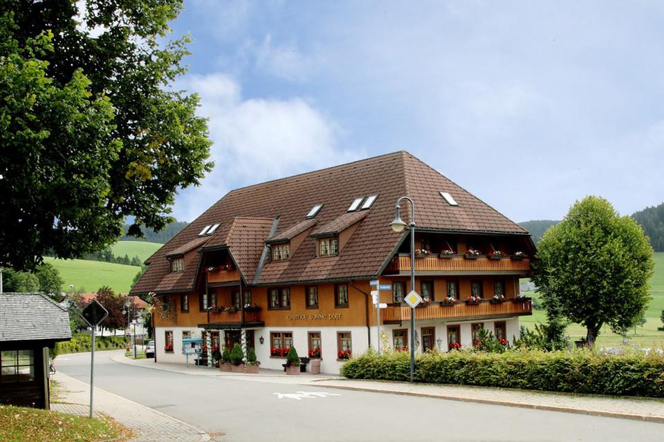 Innerhalb von nur einem Jahr wurde das Gasthaus wieder aufgebaut.