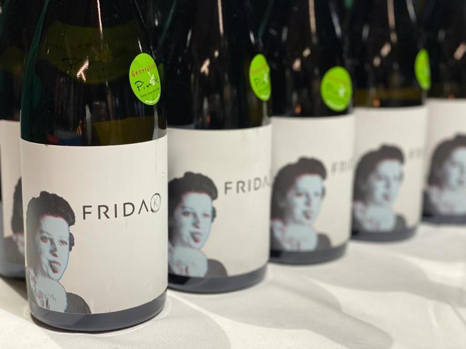 Ein kleiner Bildausschnitt, des Badischen Weins von der Generation Pinot.
