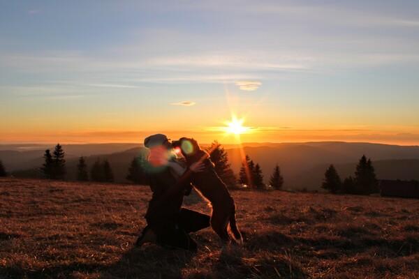 Egal zu welcher Jahreszeit auf dem Feldberg ist es immer wunderschön. Im Winter zum Snowboardfahren, im Sommer zum Wandern und ganz besonders magisch ist der Sonnenaufgang, die Aussicht auf die wunderschöne Heimat.