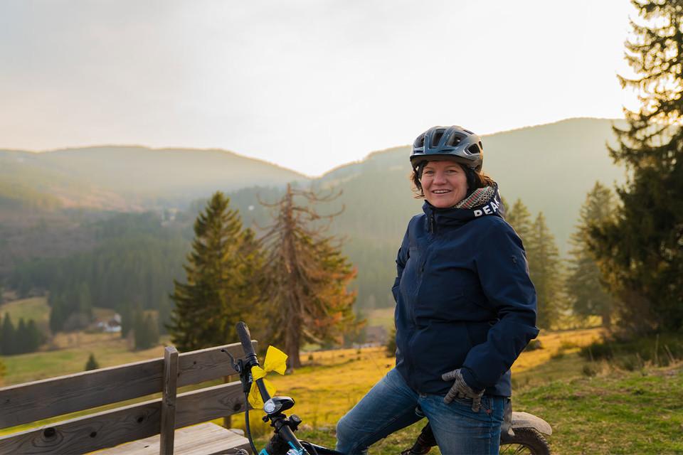 Die freie Zeit während des Lockdowns verbrachte Linda Baschnagel mit Verschönerungsarbeiten an der Tannenmühle in Grafenhausen. Außerdem erkundete sie die schöne Natur des Hochschwarzwalds.