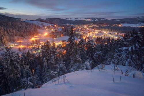 Winterstimmung in Hinterzarten