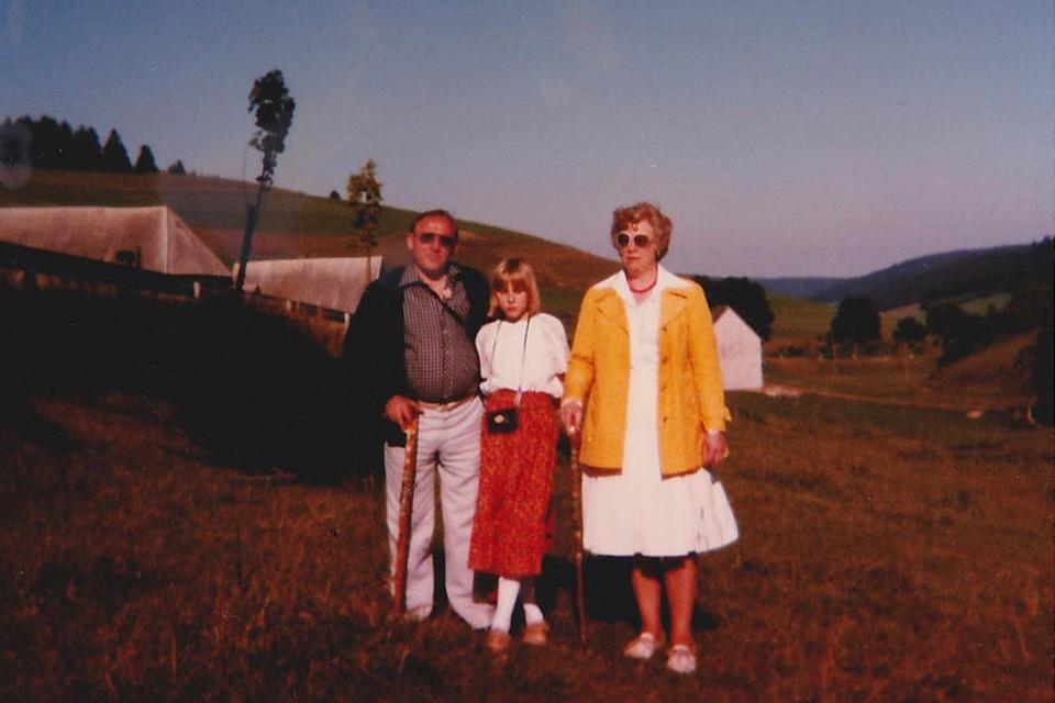 Unzählige Male hat die Familie Moog ihre Ferien im Schollachtal verbracht.