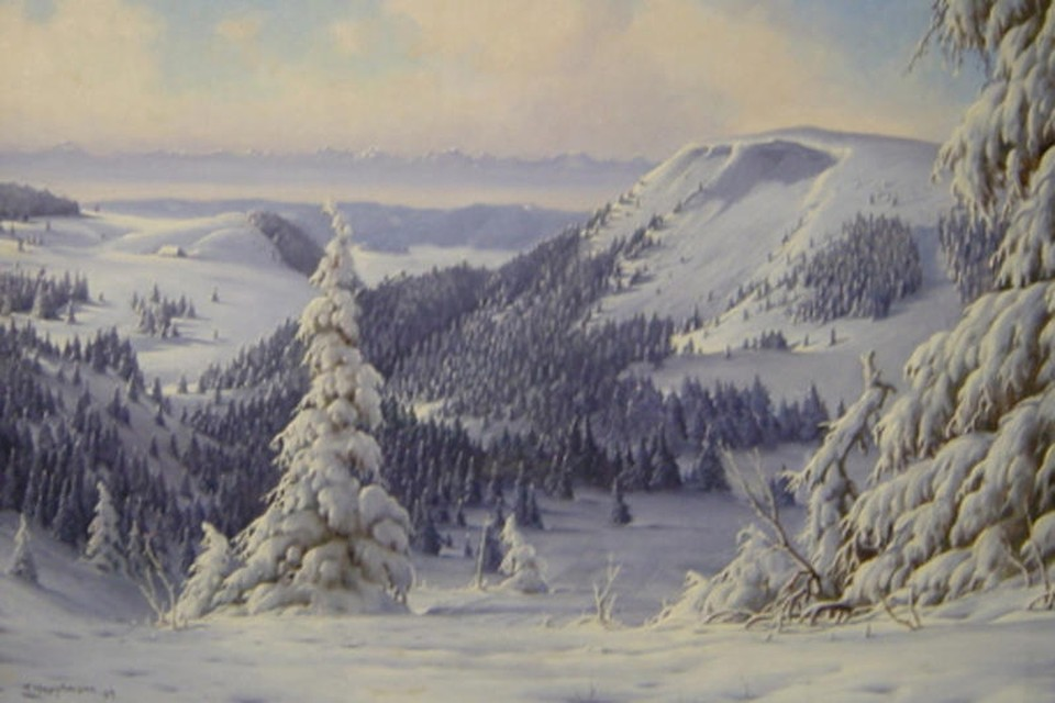Er wird am 25. April 1880 in Freiburg geboren. Nach seiner Ausbildung in Nürnberg und München arbeitet Hauptmann als freier Kunstmaler.