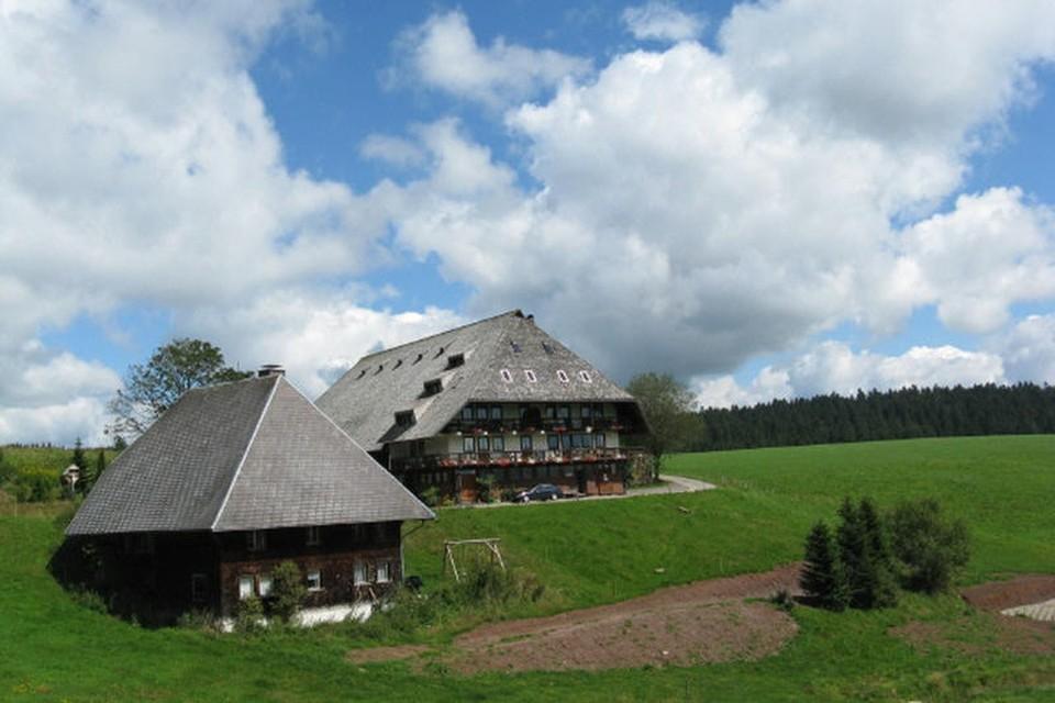 Zu dem Bauernhof gehört ein jahrhundertealtes Leibgedinghaus, das Hiesli, das mit 140 Quadratmetern und sechs Schlafzimmern groß genug für alle ist.