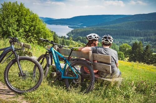 Fahrradtour mit E-Mountainbikes