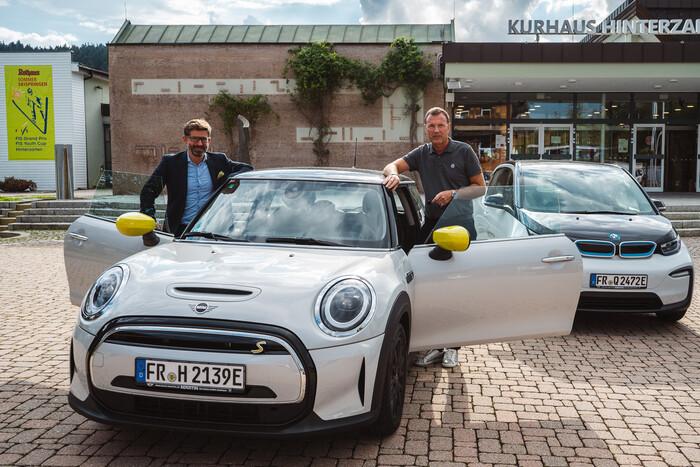 Tobias Gutgsell (links) und Thorsten Rudolph