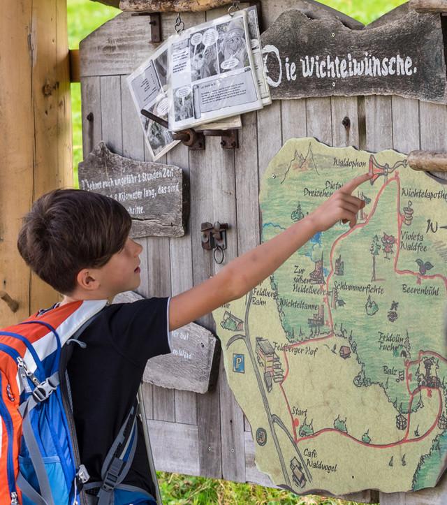 """Der """"Wichtelpfad im Auerhahnwald"""" am Feldberg ist einer der schönsten Erlebnispfade im Südschwarzwald."""