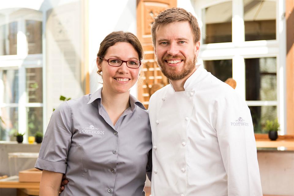 Daniel und Carina Frech betreiben seit 2013 gemeinsam den Familienbetrieb.