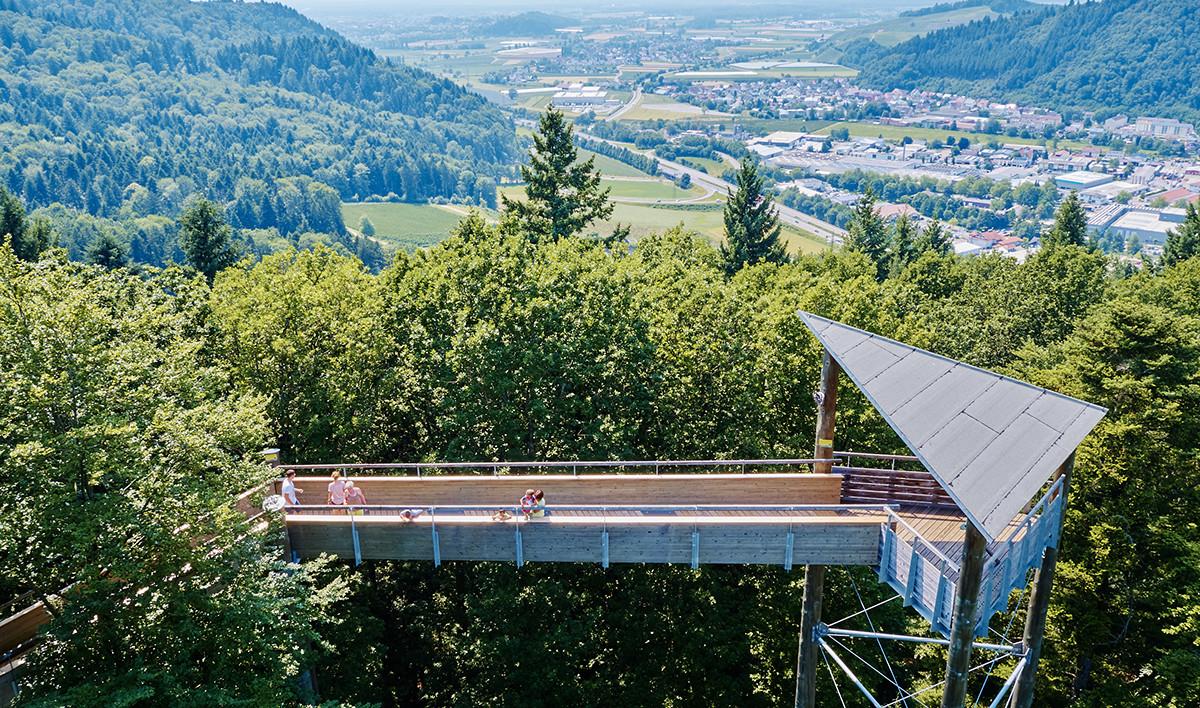 Baumkronenweg Waldkirch Die Wimpel des Schwarzwaldes entdecken