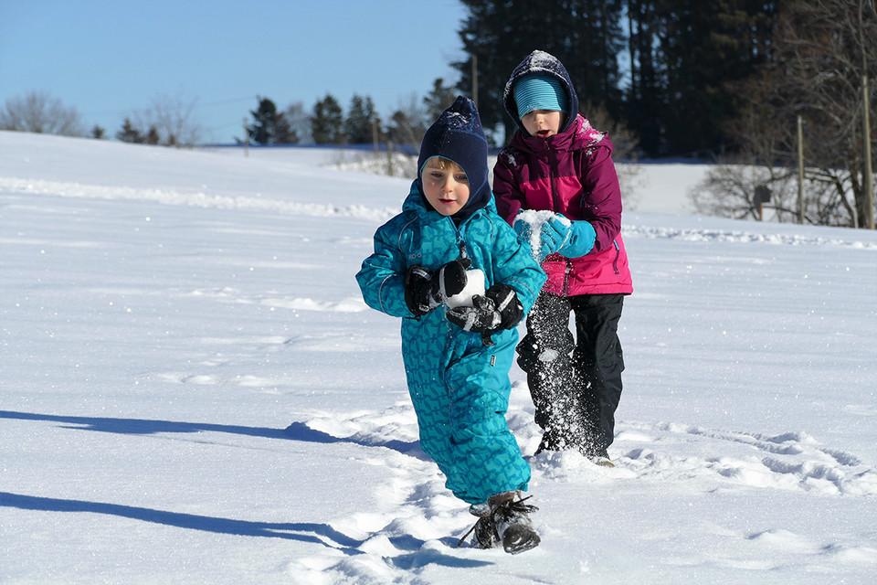 Für die Eltern ist der Ausflug eine Erholung, für die Kinder bietet er Action.