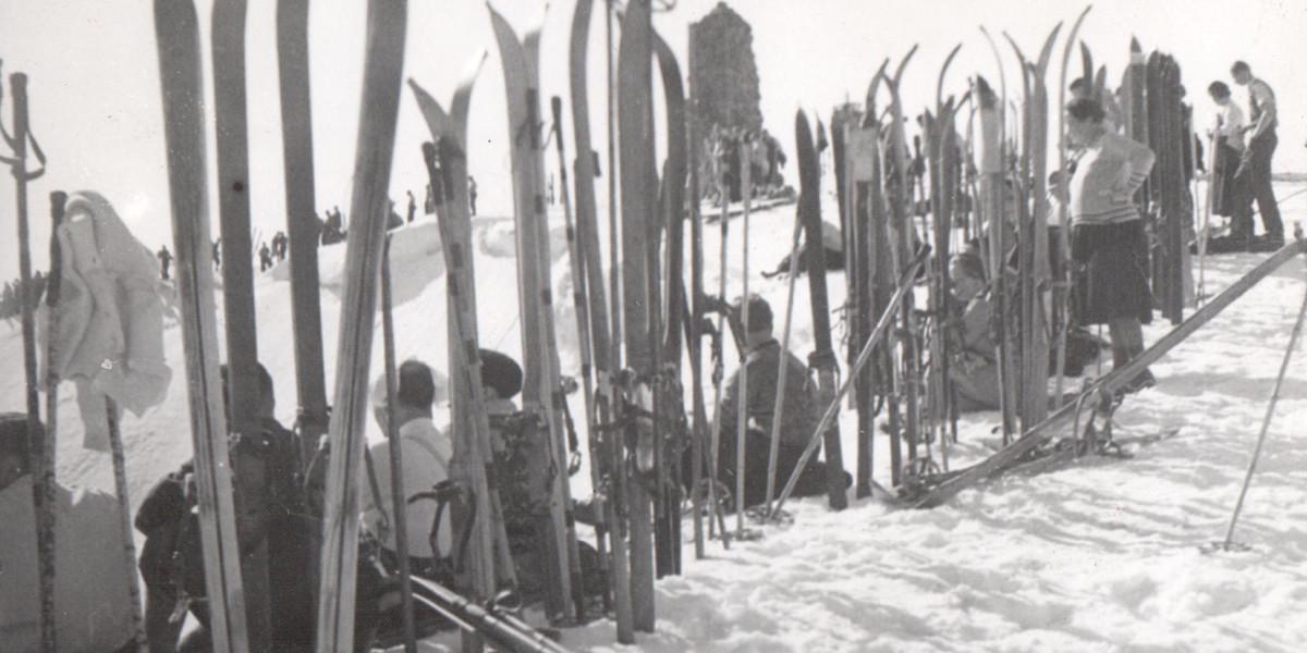 Per Postweg gelangten um 1890 erste Skier von Norwegen in den Schwarzwald.
