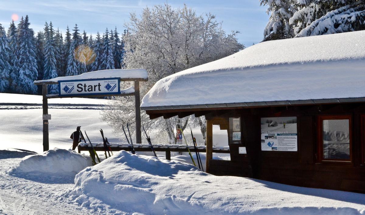 Ski gewachst und bereit für die große Runde!