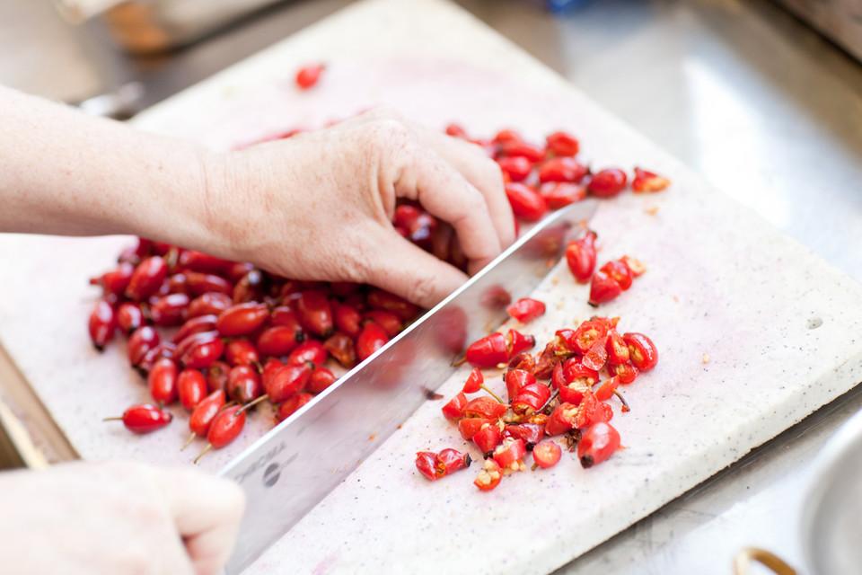 Wichtig ist , den Eigengeschmack herauszuarbeiten, damit es erkenn- und schmeckbar ist.