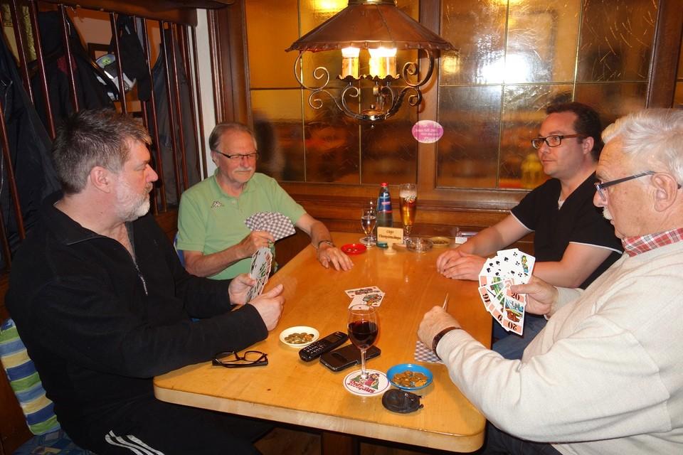 Freitagabend ist Cegozeit im Gasthaus Schützen in Neustadt