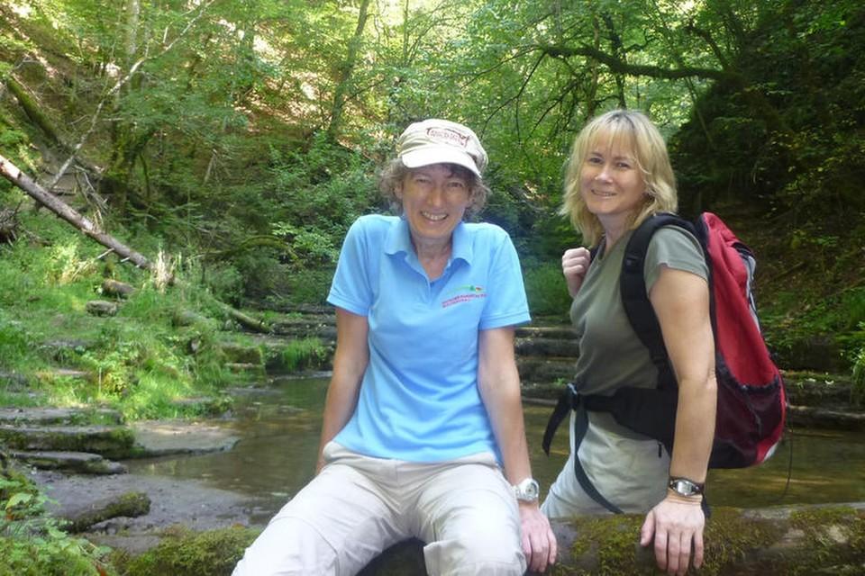 Marion wandert leidenschaftlich und wurde in den Vorstand des Schwarzwaldvereins gewählt.