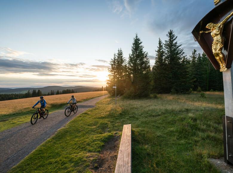 Mountainbike fahren - Gipfeltrail Hochschwarzwald