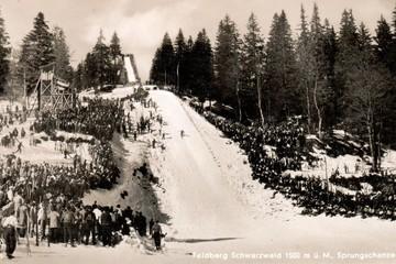 Als die Schwarzwälder ihre ersten Sprungschanzen bauten