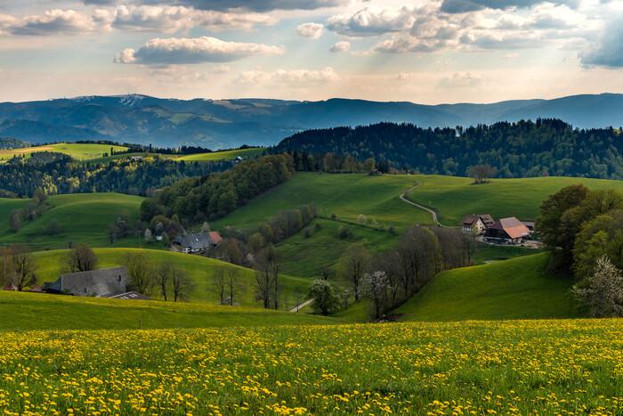 Landschaft bei St. Peter