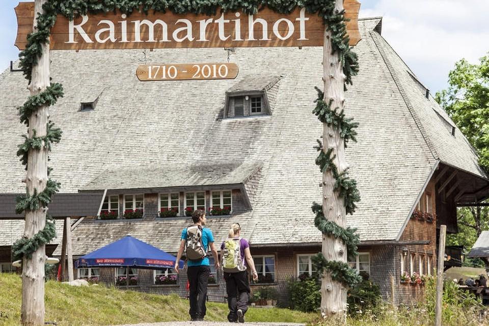 Der Raimartihof gehört zu den größten  und ältesten Wandergasthäusern in Baden-Württemberg.