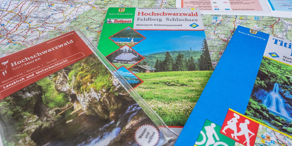 Umsichtige Reisende haben stets eine Karte im Gepäck!