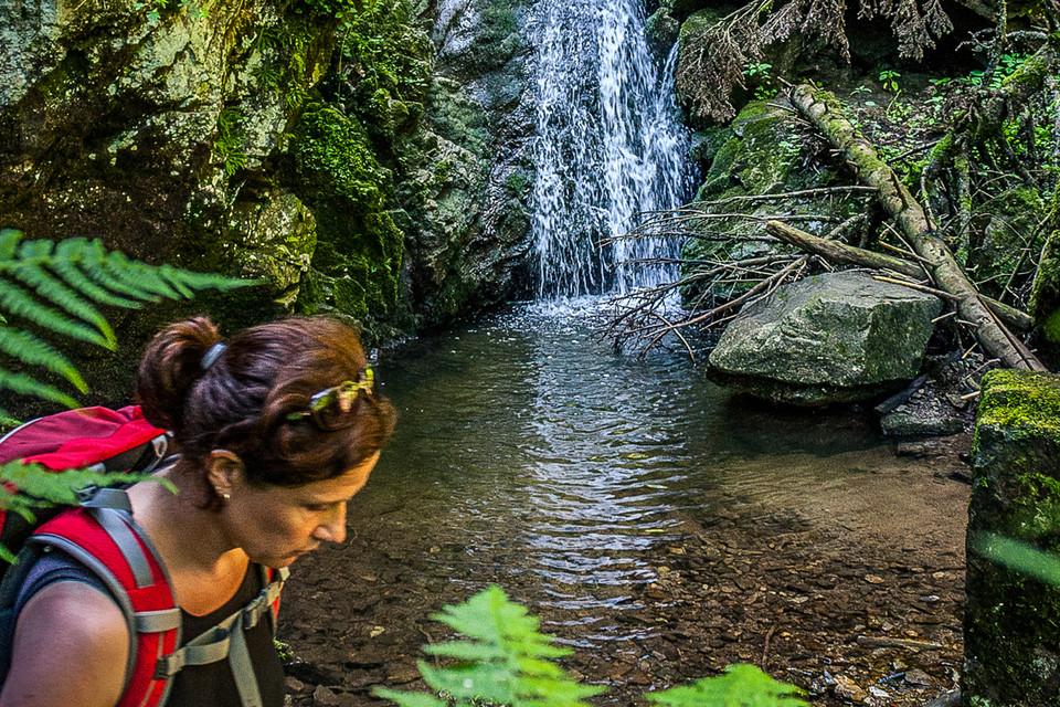 Der Fahler Wasserfall gilt als kleiner Bruder des Todtnauer Wasserfalls.