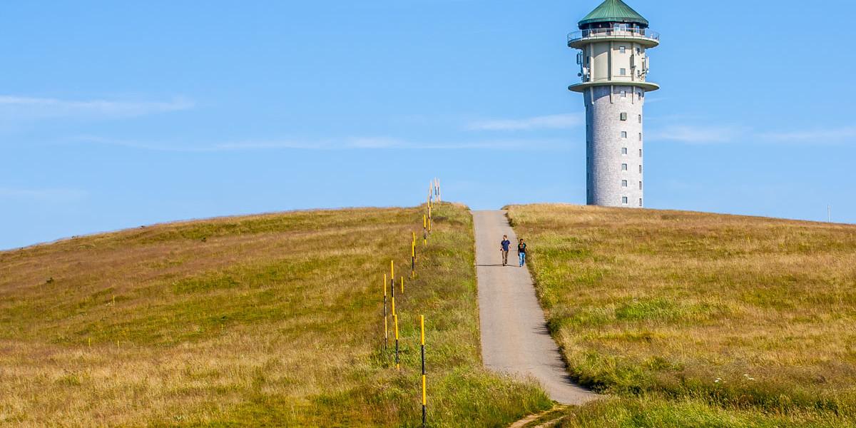 Der Feldberg mit seinem Turm