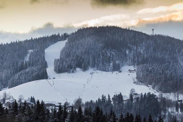 Blick Skizentrum Thoma in Hinterzarten