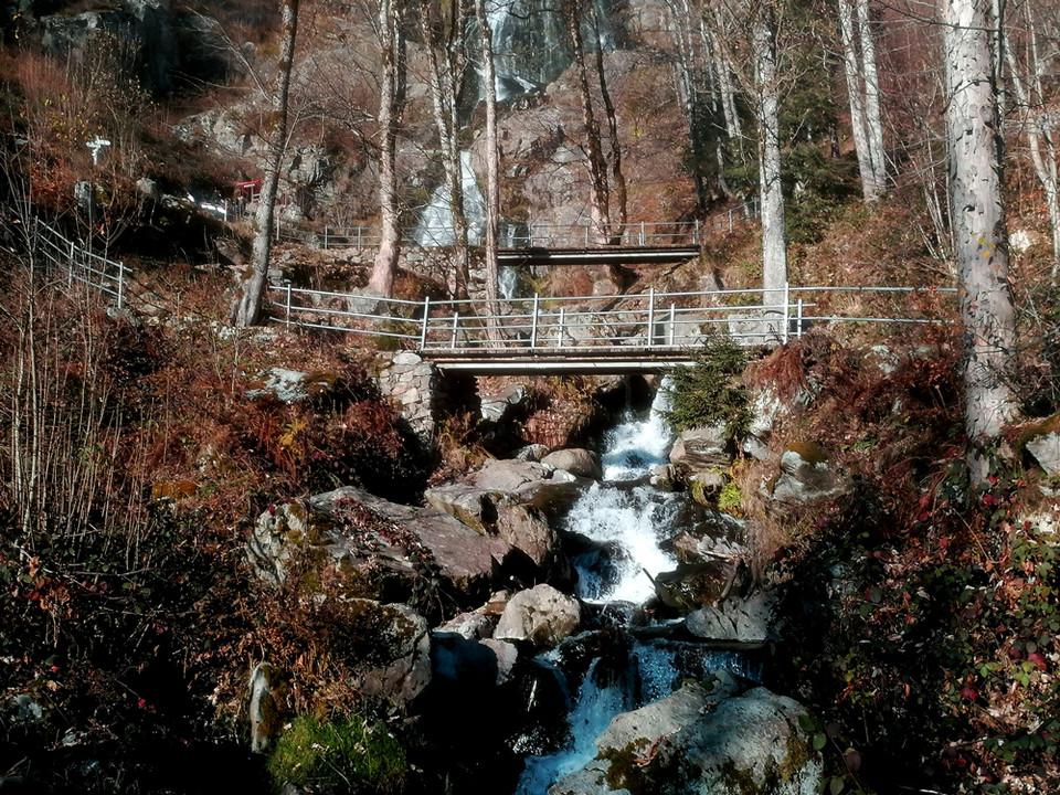 Pfad am Todtnauer Wasserfall