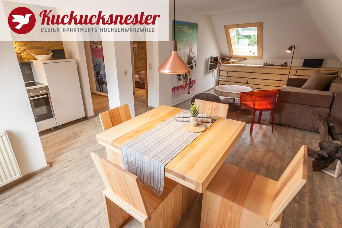 Wohnzimmer Kuckucksnester