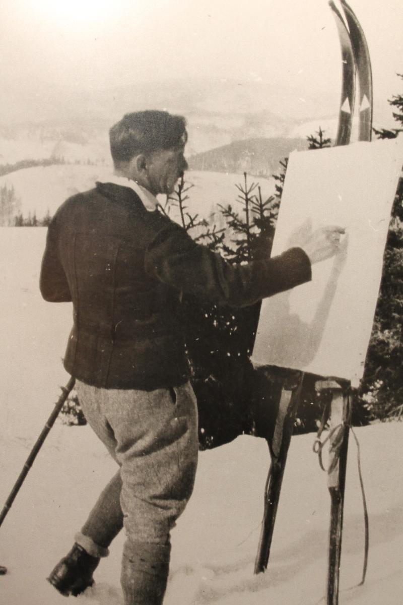 Karl Hauptmann (1880-1947) zählte schon zu Lebzeiten zu den bedeutendsten Schwarzwaldmalern.