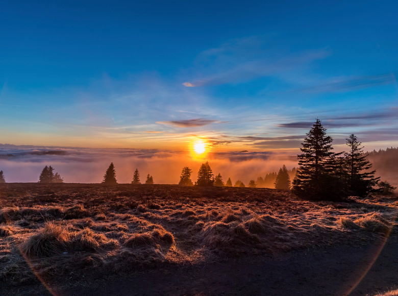 Sonnenaufgang am Feldberg
