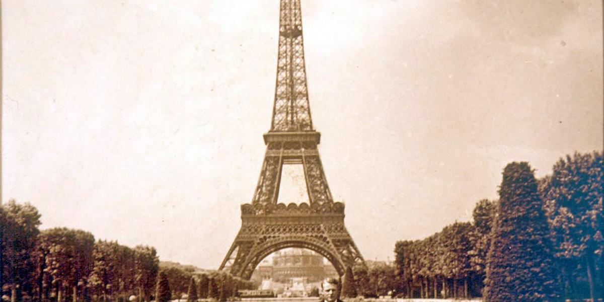 Franz Morat junior in Paris