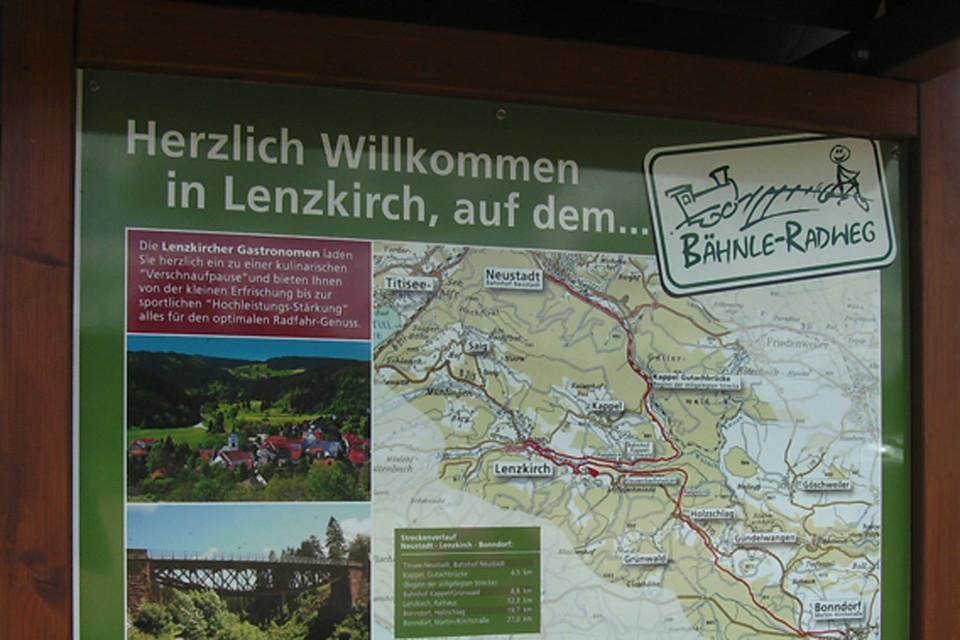 Ich starte von Hinterzarten aus über Titisee in Richtung Neustadt.
