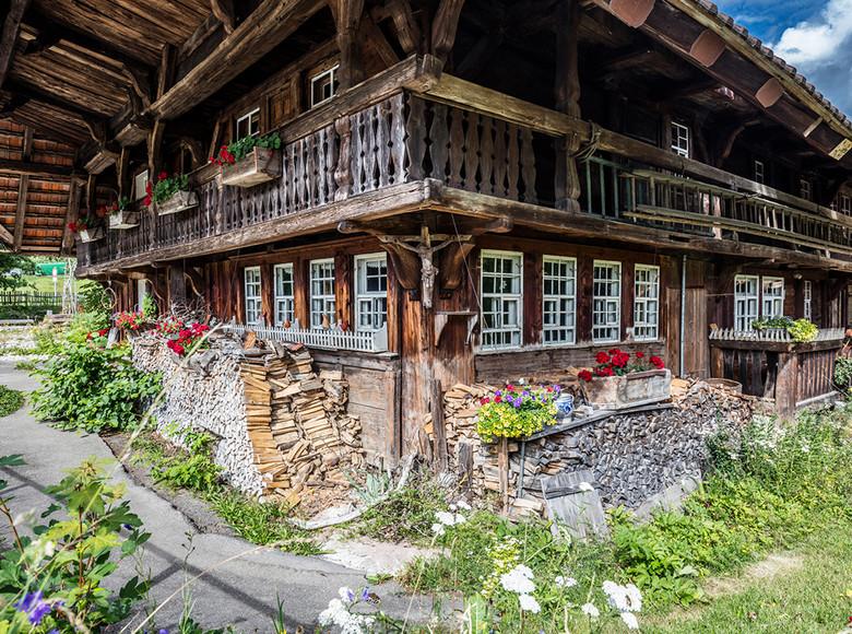 So sieht es aus, das typische Schwarzwaldhaus