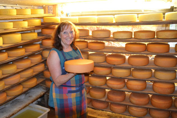 Nicht alles Käse auf der Alp in Äule